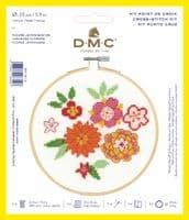 DMC Japanese Flowers cross stitch kit
